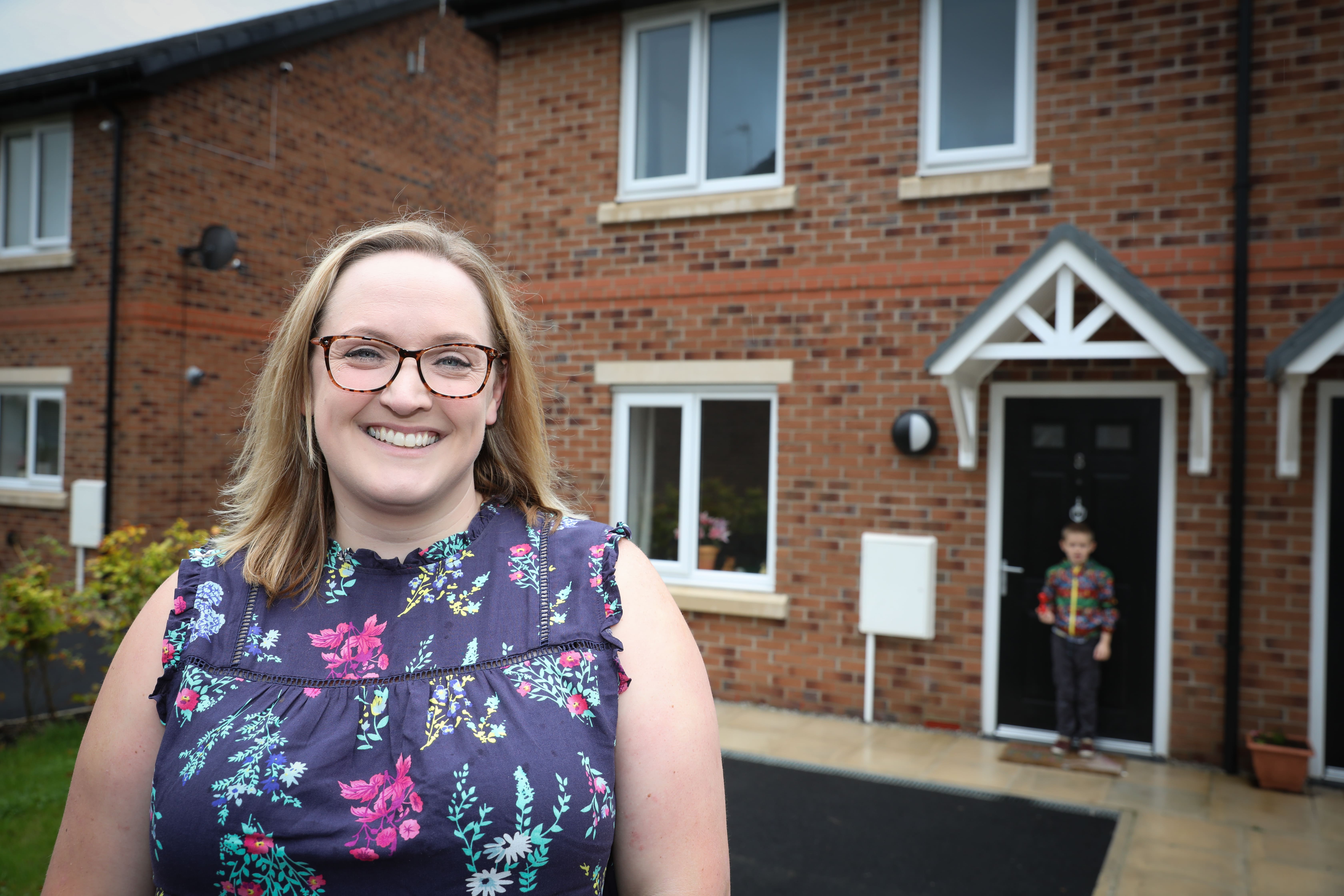 Caroline can't believe it when she parks outside of her new home in Lowton, walks up her drive and opens her front door Image