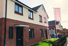 The Wells show home exterior