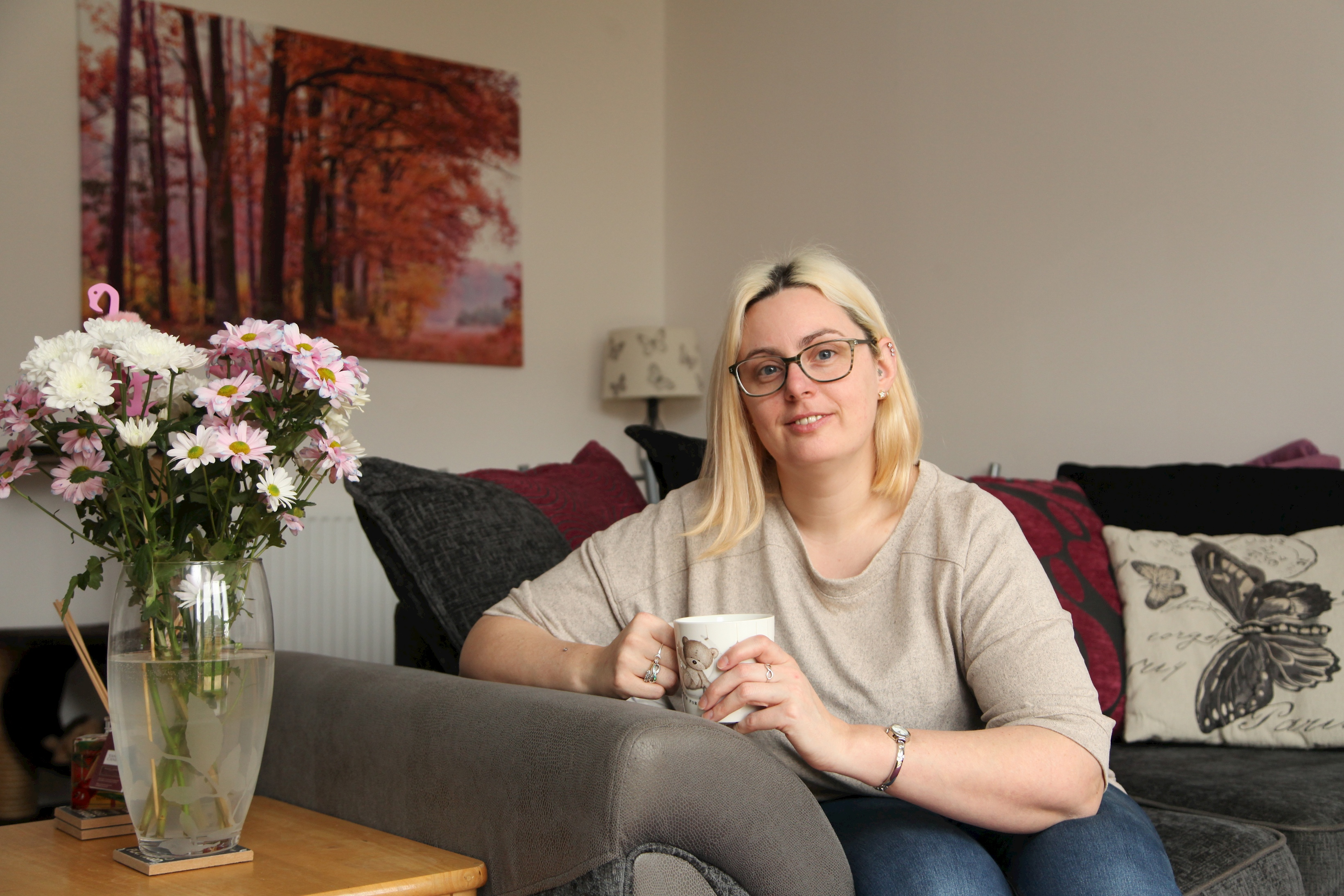 First time buyer Tammy steps onto the property ladder Image